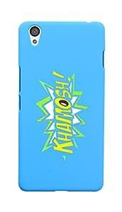 KolorEdge Back Cover For One Plus X - Sky Blue (6044-Ke15147OnePlusXSBlue3D)