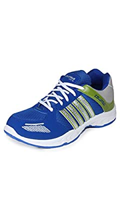 Columbus Men Blue Green Sports Shoes