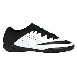 Nike MercurialX Finale IC Indoor Soccer Shoe (Black, White) Sz. 9