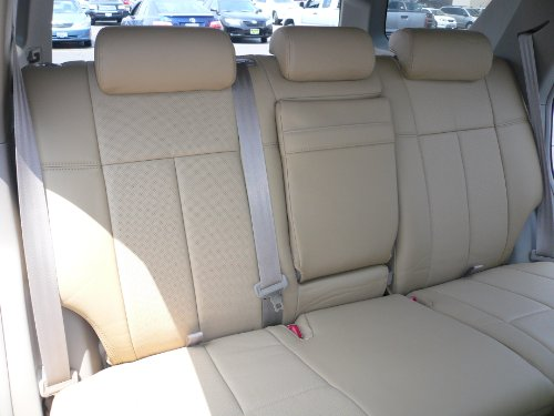 Driver Side Bottom Replacement Leather Seat Cover Tan 2004 2005 Chevy Suburban