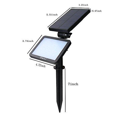 Zsmj-48-LED-solarbetriebene-Auenwandleuchte-Solar-Auenleuchten-Scheinwerfer-Sicherheitsbeleuchtung-Pfad-Beleuchtung-In-Boden-Licht-Landschaft-Licht-Hof-Garten-Rasen-Auffahrt-usw