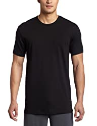 Calvin Klein Mens Body 3 Pack Slim Fit Short Sleeve Crew Neck Tee