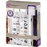 Hanging Jewelry Organizer 72 Soft Pockets Double Sided