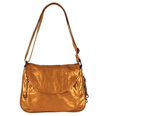 Latico Leather Mitzi Crossbody - Metallic Gold (Chanel Vintage Purse compare prices)