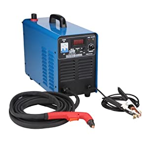 240 Volt Inverter Air Plasma Cutter with Digital Display by Chicago Electric Welding Systems
