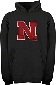 Nebraska Cornhuskers Playbook Hooded Sweatshirt Black by adidas