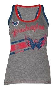 Washington Capitals NHL Hockey Ladies Racer Back Tank Top