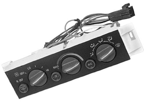 ACDelco 15-72266 GM Original Equipment Heating and Air Conditioning Control Panel with Rear Window Defogger Switch