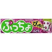 味覚糖 ぷっちょスティック ぶどう 10粒×10個