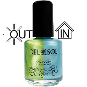Del Sol - Color Changing Nail Polish - Electrick