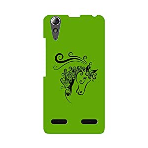 Skintice Designer Back Cover with direct 3D sublimation printing for Lenovo A6000