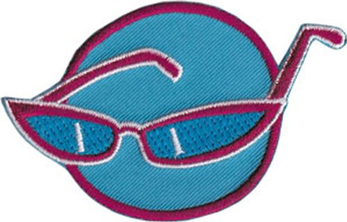 Application Retro Sunglasses Patch
