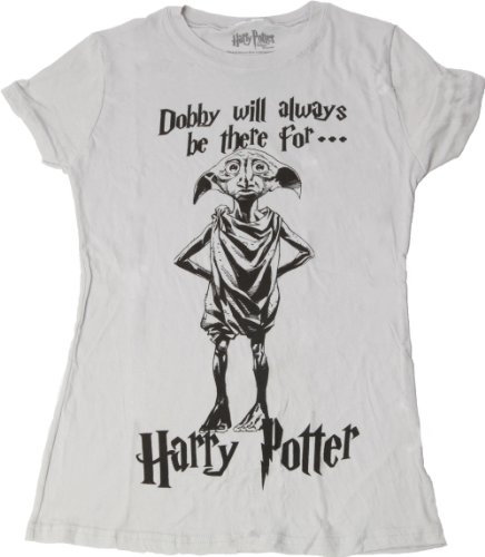 Harry Potter And The Deathly Hallows Dobby Juniors Tee (X-Large)