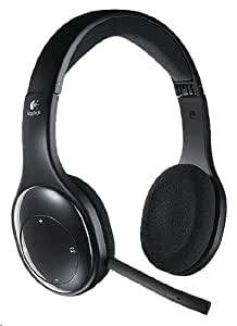 Logitech Wireless Headset H800 Micro-casque sans-fil rechargeable à filtrage de bruit Noir