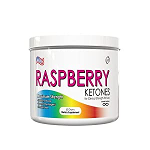 Raspberry Ketones Powder-100 Natural Weight Loss Supplement 500 Mg 50 Gram Jar Bulk Raspberry Ketone Powder by Genetic Solutions
