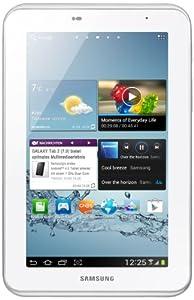 Samsung Galaxy Tab 2 P3110 WIFI Tablet (17,8 cm (7 Zoll) Display, 1GHz Prozessor, 1GB RAM, 16 GB Speicher, 3,2 Megapixel Kamera, Android) weiß
