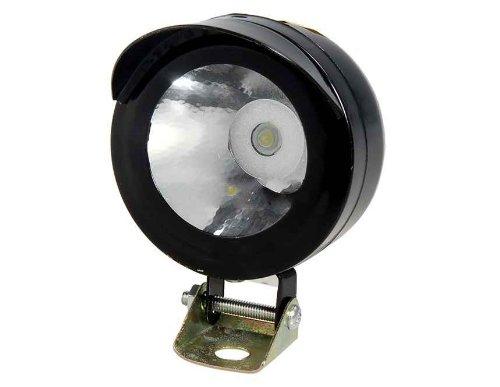 3W 12-80V White Light Motorcycle Headlight