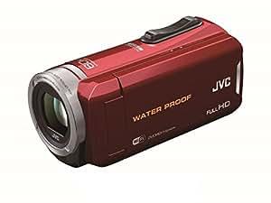 JVC KENWOOD JVC ビデオカメラ 防水5m防塵仕様 内蔵メモリー64GB レッド GZ-RX130-R