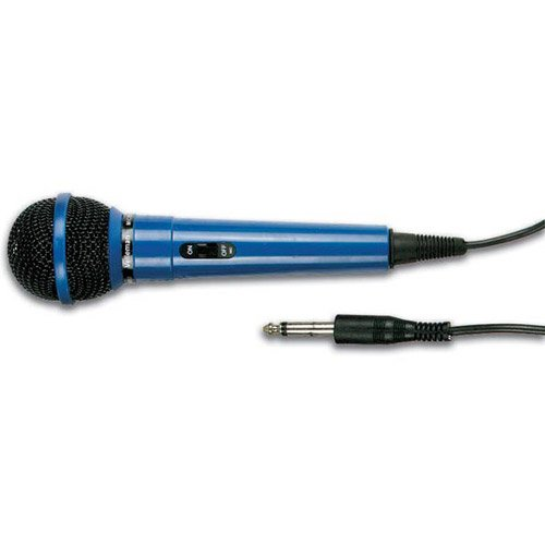 Handheld Dynamic Microphone Blue With 10 Ft. Cable