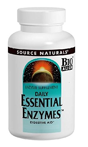 Source Naturals Essential Enzymes 500 Mg Vegetarian Capsules