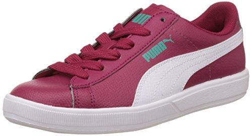 Puma Unisex Archive Lite L Jr Pink Leather Sneakers - 3C UK