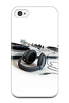 buy Hot Headphones First Grade Tpu Phone Case For Iphone 4/4S Case Cover