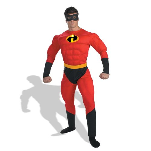Mr. Incredible Costume - X-Large - Chest Size 42-46