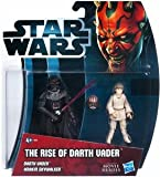 Hasbro Star Wars 2012 Movie Heroes Basic Figure Darth Vader / Star Wars Movie Heroes Exclusive Action Figure / The Rise of Darth Vader 2Pack U.S. target [Limited Edition / parallel import] (japan import)