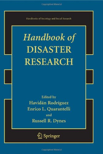 Handbook of Disaster Research (Handbooks of Sociology and...