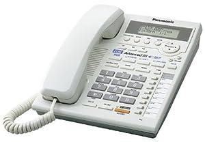 Panasonic KX-TS3282W 2-Line Corded Phone with Caller ID and Intercom, White