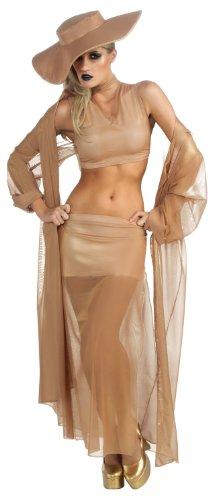 Lady Gaga Gold Grammy Costume