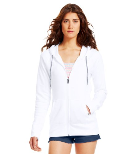 Under Armour Women'S Ua Woodlands Hoodie Large White front-36242
