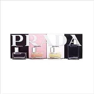 PRADA COFFRET for Men/Women - 4 piece Miniature Gift Set