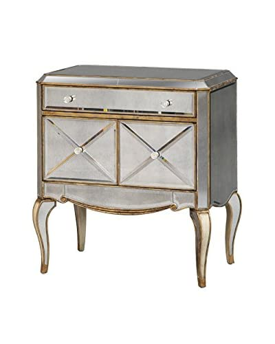 Bassett Mirror Company Collette Commode, Antique Mirror
