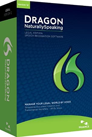 Dragon NaturallySpeaking Legal v12