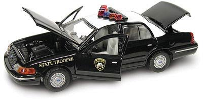 Wyoming Highway Patrol - 2001 Crown Victoria 1:43 Scale - 1