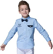 LeoampLily Little Boys39 Fashion Button down closure England Classic Woven Shirts