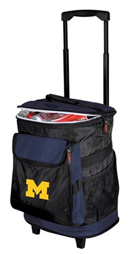 Ncaa Michigan Wolverines Rolling Cooler front-882549