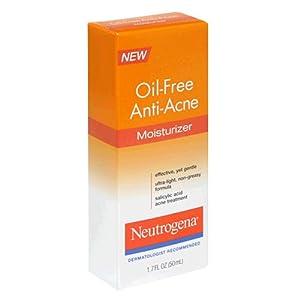 Neutrogena Oil-Free Anti-Acne Moisturizer, 1.7 Ounce (Pack of 3)