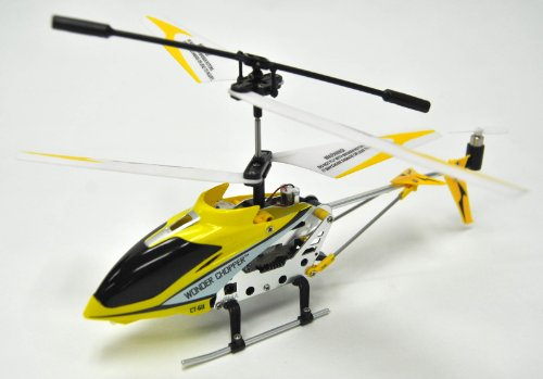 RC Helicopter : Swift Lightning w/ Remote Control & Replacement Parts