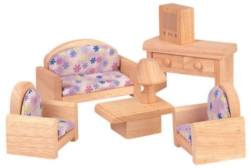 Plan Toy Doll House Living Room - Classic Style
