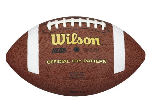 Sale alerts for Wilson NCAA Youth Composite Football - Covvet