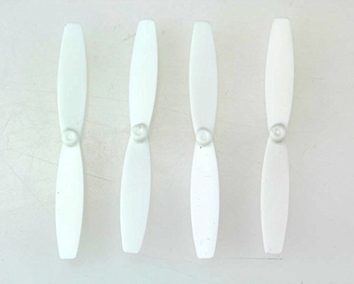 4pcs Propeller Props Blades Rotor for Parrot MiniDrone Rolling Spider, White Color