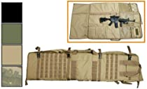 NcStar Rifle Case With Shooting Mat Green