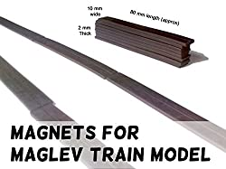 MFM Toys Maglev Train Project Magnets | Rubber Magnet Strips