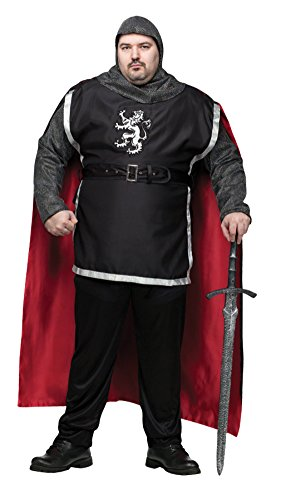 Funworld Mens Medieval Knight Theme Party Fancy Dress Costume