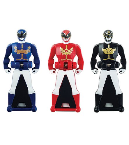 Power Rangers Super Megaforce - Power Rangers Megaforce Legendary Ranger Key Pack, Red/Blue/Black (All Red Ranger Keys compare prices)