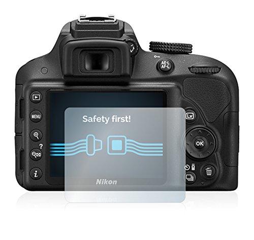 6x-Pellicola-Protettiva-per-Nikon-D3300-Protezione-Proteggi-Schermo-Trasparente