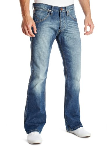 Wrangler Miles Boot Cut Men's Jeans Lazy Bather 28W x 32L