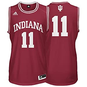 Buy Adidas Indiana Hoosiers Youth Replica Basketball Jersey by adidas